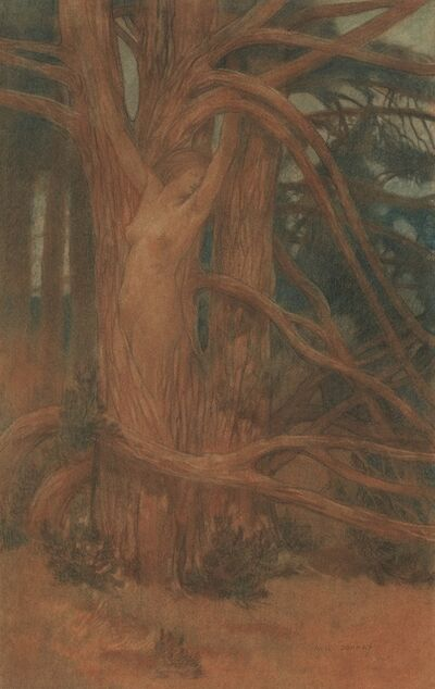 August Donnay, 'Hamadryade', 1898
