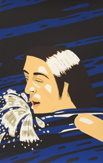 Alex Katz, 'Olympic Swimmer', 1976