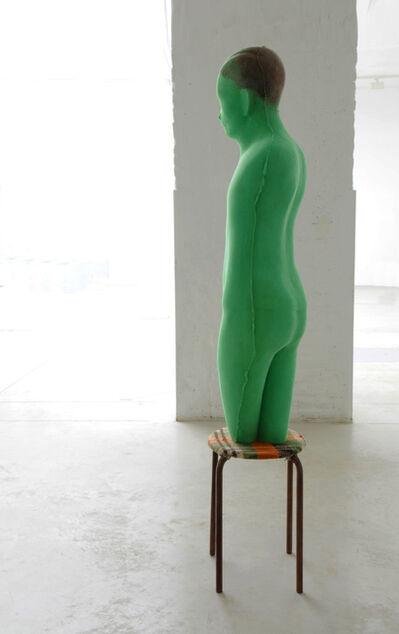 Anton Cotteleer, 'The green tabouret man', 2015