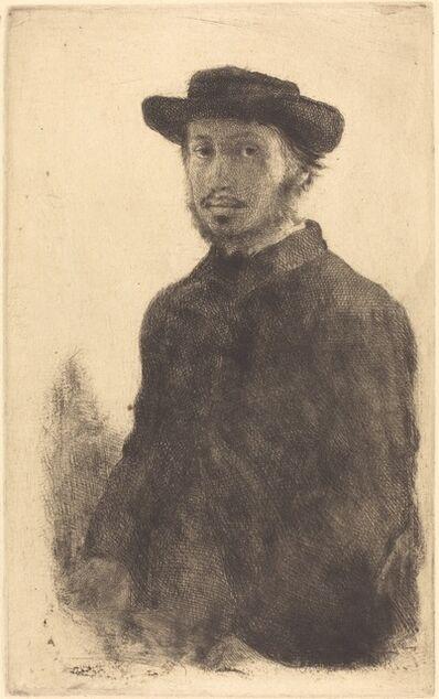 Edgar Degas, 'Self-Portrait (Edgar Degas, par lui-même)', probably 1857