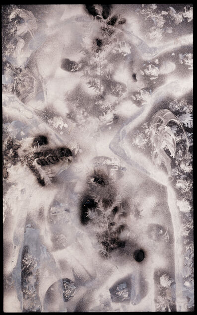 William S. Burroughs, 'Black Christmas Tree', 1988