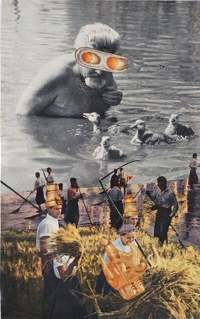 Jess, 'Untitled (Konrad Lorenz)', ca. 1955