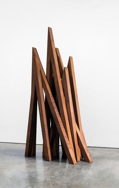 Bernar Venet, '9 Acute Unequal Angles   59 1/8 x 39 inches ', 2016