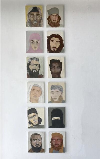 Razan Al Sarraf, '12/100 Portrait Series', 2018