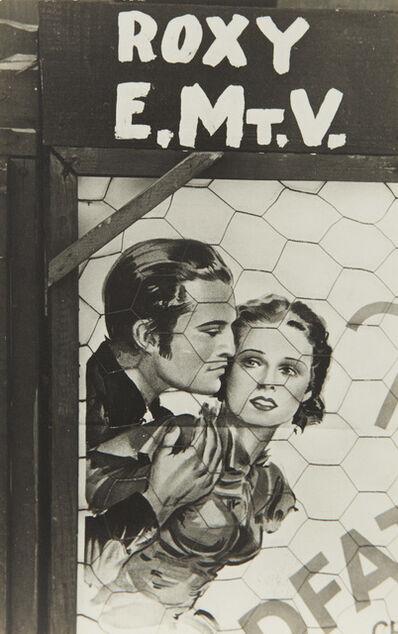 Walker Evans, 'Movie Poster near Moundville, Alabama', 1936