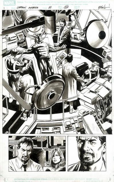 Steve Epting, 'CAPTAIN AMERICA (2008) #33, PG 23 1st: Bucky as Captain America', 2008
