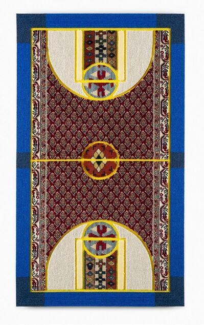 Nevin Aladağ, 'PATTERN MATCHING (RED-FLOWERS-YELLOW)', 2015