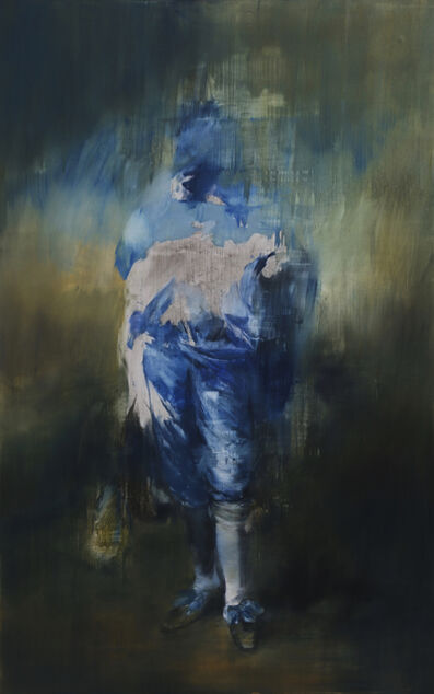 Jake Wood-Evans, 'The Blue Boy, after Gainsborough I', 2019