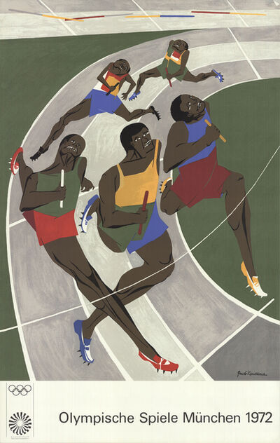 Jacob Lawrence, 'Munich Olympics 1972', 1972