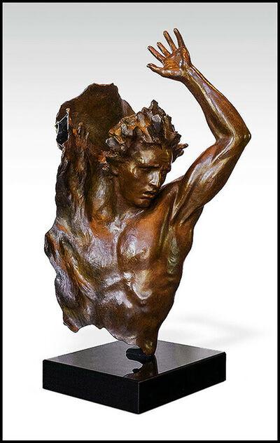 Frederick Hart, 'Frederick Hart Large Ex Nihilo 4 Bronze Sculpture Male Full Round Signed Artwork', 2006