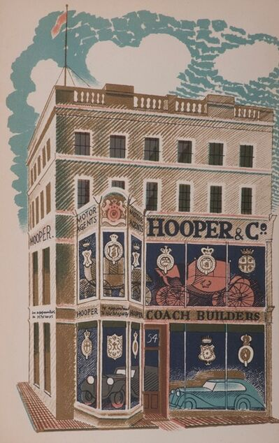 Eric Ravilious, 'Hooper & Co. Coach Builders', 1903-1942