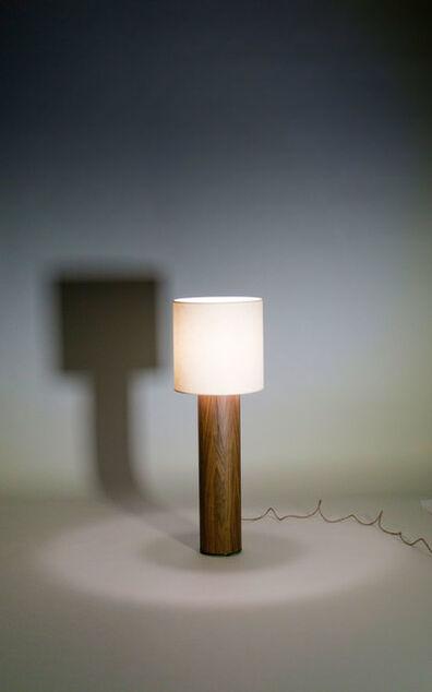 Tinatin Kilaberidze, 'Walnut TABLE LAMP by Tinatin Kilaberidze', 2016