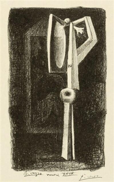 Pablo Picasso, 'Figure.  Baigneuse a la Cabine from 'Le Manuscrit autographe'', 1929
