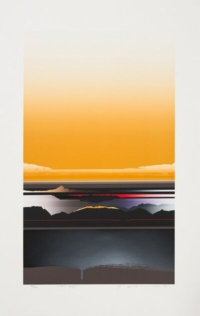 Tetsuro Sawada, 'Brilliant Views (beige)', 1987