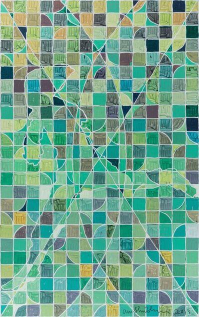 Wu Shanzhuan, 'When the Flame Thrower Becomes a Pattern (Green Tone)《当投火者成为图式(绿调)》', 2013