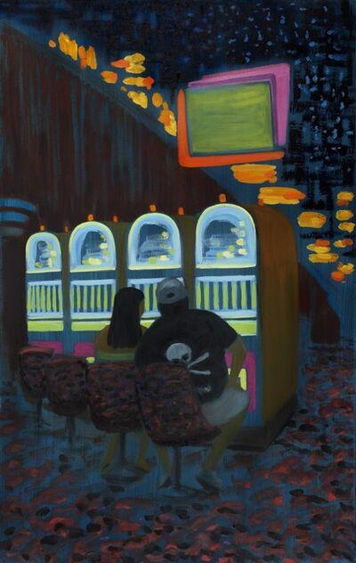 Jane Dickson, 'Large Skull II', 2011
