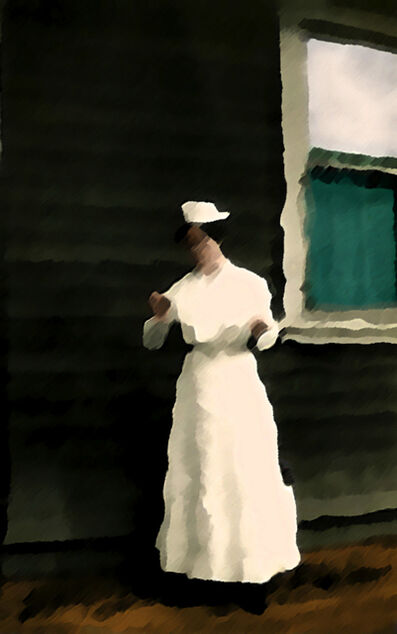 Malekeh Nayiny, 'Green Blind', 2010