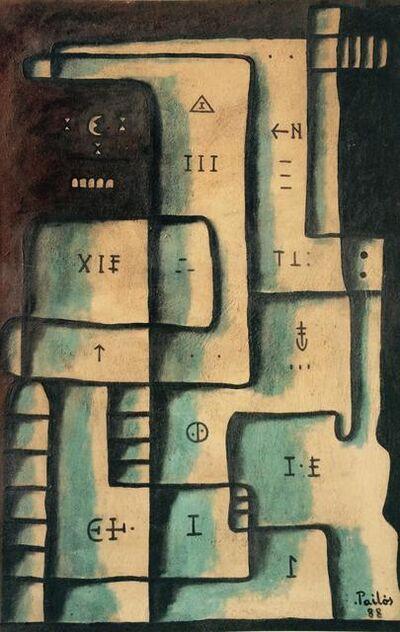 Manuel Pailós, 'Laberinto', 1988