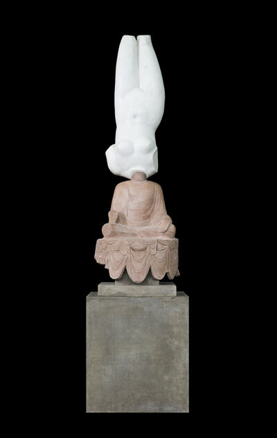 Xu Zhen 徐震, 'Eternity-Aphrodite of Knidos, Tang Dynasty Sitting Buddha', 2014