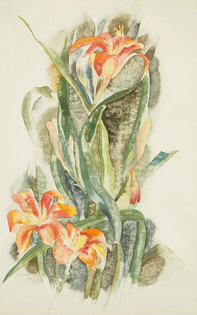 Charles Demuth, 'Daylilies', 1918