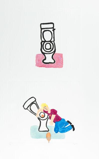 Sara Zielinski, 'Bathroom Rug', 2015
