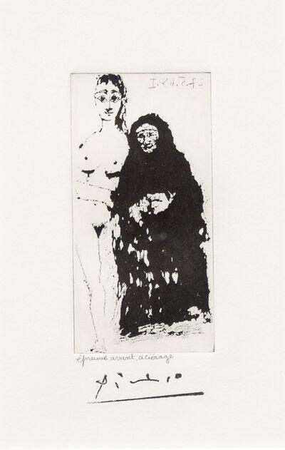 Pablo Picasso, 'Maja et Celestine, from the 347 Series', 1968
