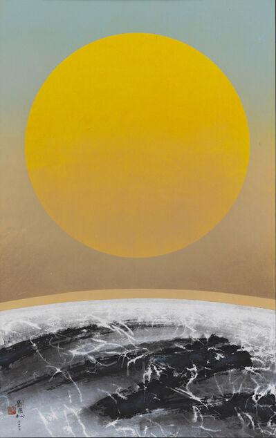 Liu Kuo-sung 刘国松, 'Rising sun', 2010