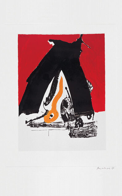Robert Motherwell, 'The Basque Suite: Untitled', 1971