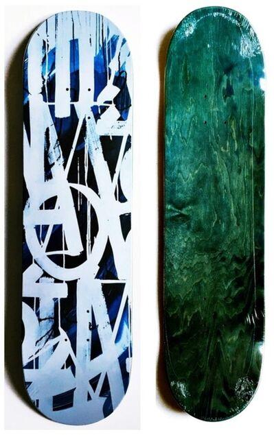 RETNA, 'Original Limited Edition Skateboard Skate deck with hand signed COA', 2018
