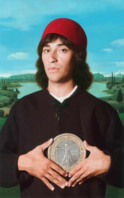 E2 - KLEINVELD & JULIEN, 'Ode to Botticelli's Portrait of a Man with a Medal of Cosimo Elder', 2012