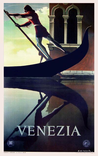 A.M. Cassandre, 'Venezia - Venice - Italy - Italian Travel Poster ', 1951