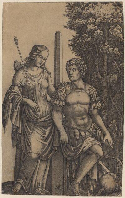 Marcantonio Raimondi, 'Venus Appearing to Aeneas', ca. 1505