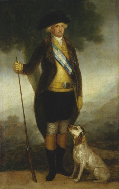 Workshop of Francisco de Goya, 'Charles IV of Spain as Huntsman', ca. 1799/1800