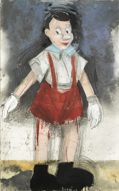 Jim Dine, 'Red Pants II (Carpenter 136)', 1999