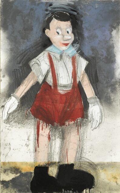 Jim Dine, 'Red Pants II (Carpenter 136)', 1999