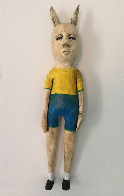 Ashley Benton, 'Ceramic wall hanging sculpture: 'Finn wants to go back and see his friends'', 2021