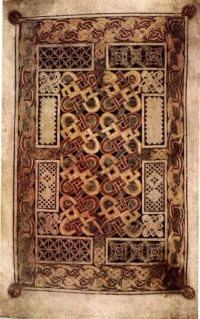 'Carpet page from the Book of Durrow', Second half of 7th century