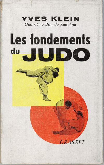 Yves Klein, 'Yves Klein: Les Fondements du Judo', 1954