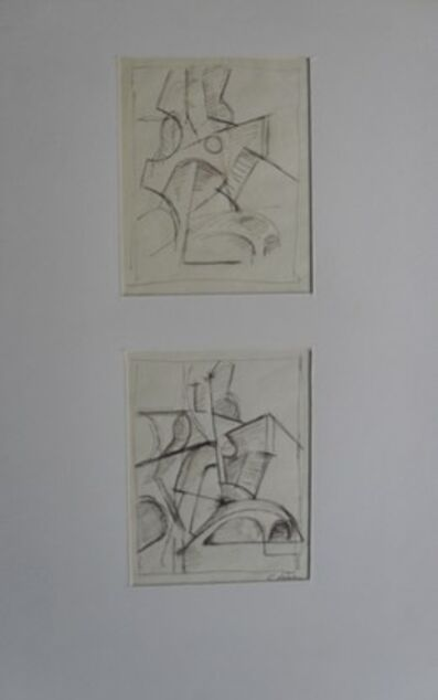 Carl Kohler, 'Model studies Paris', 1949