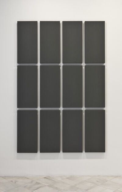 Alan Charlton, 'Grid Painting '3 x 4'', 2009