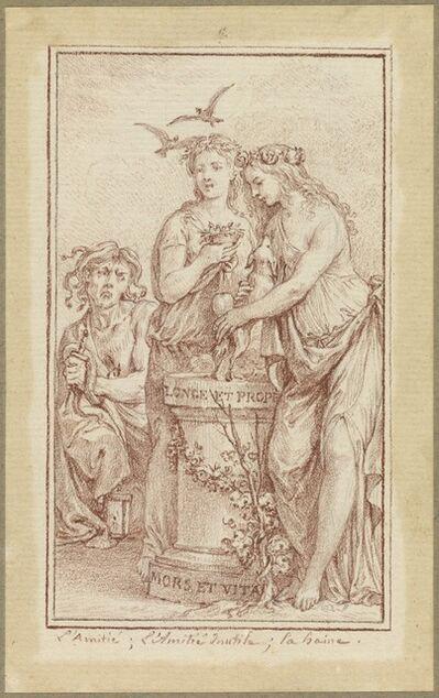 Charles-Nicolas Cochin II, 'Friendship, Useless Friendship, and Hate', 1774/1775