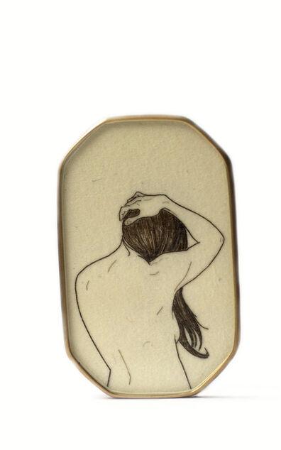 Melanie Bilenker, 'Brooch from the Pinning Series', 2013