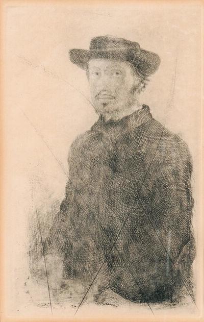 Edgar Degas, 'Edgar Degas, par lui-même', 1855-57