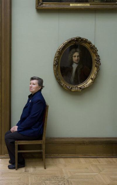 Andy Freeberg, 'Guardians: Portrait of Y.M. Yevreinov, Artist, State Tretyakov Gallery'