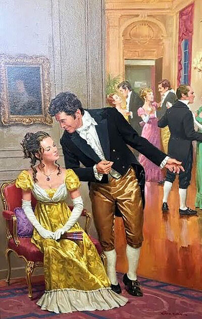 Robert Berran, 'Asking to Dance', 20th Century