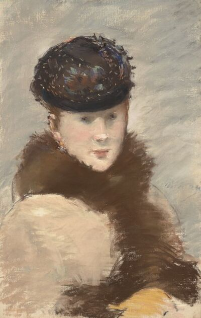 Édouard Manet, 'Méry Laurent Wearing a Small Toque.', 1882