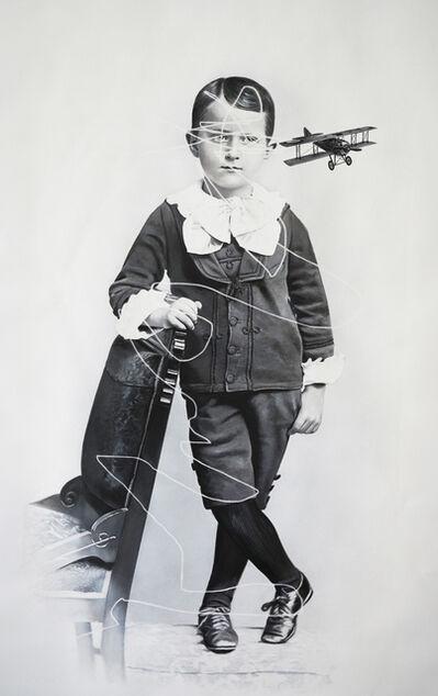 Zoé Byland, 'Boy and Aeroplane', 2019