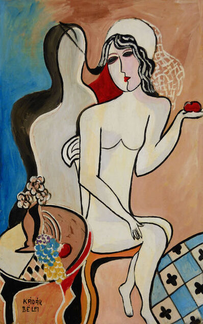 Bela Kadar, 'Woman with Apple', ca. 1920-1945