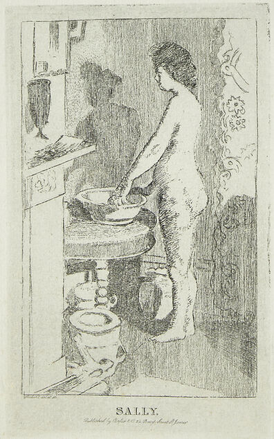 Walter Richard Sickert, 'Sally [Bromberg 142 IV/IV]', 1915