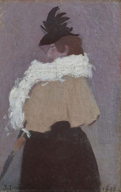 Joaquín Torres-García, 'Figura de mujer (Figure of a woman)', 1900
